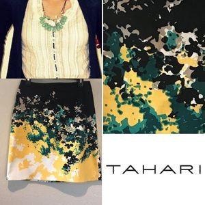 TAHARI stunning skirt🌼🖤🌱